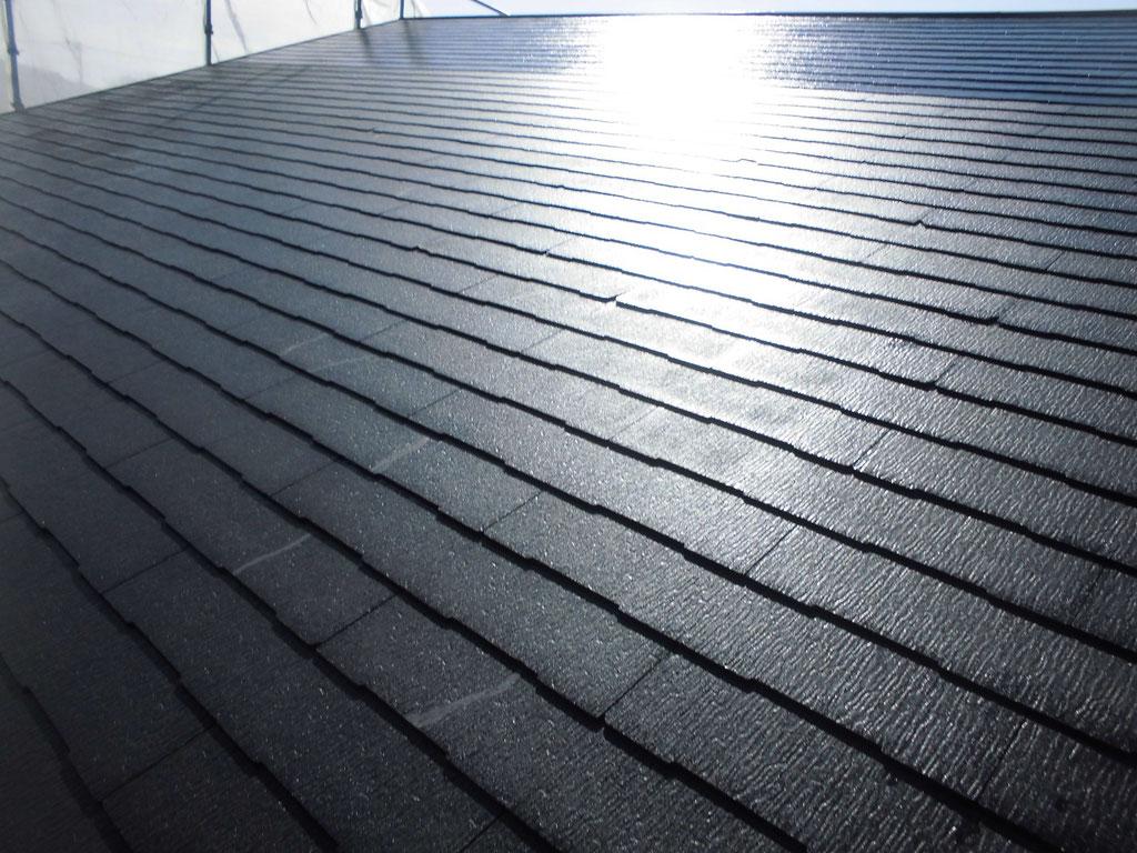 スレート屋根/クラック補修