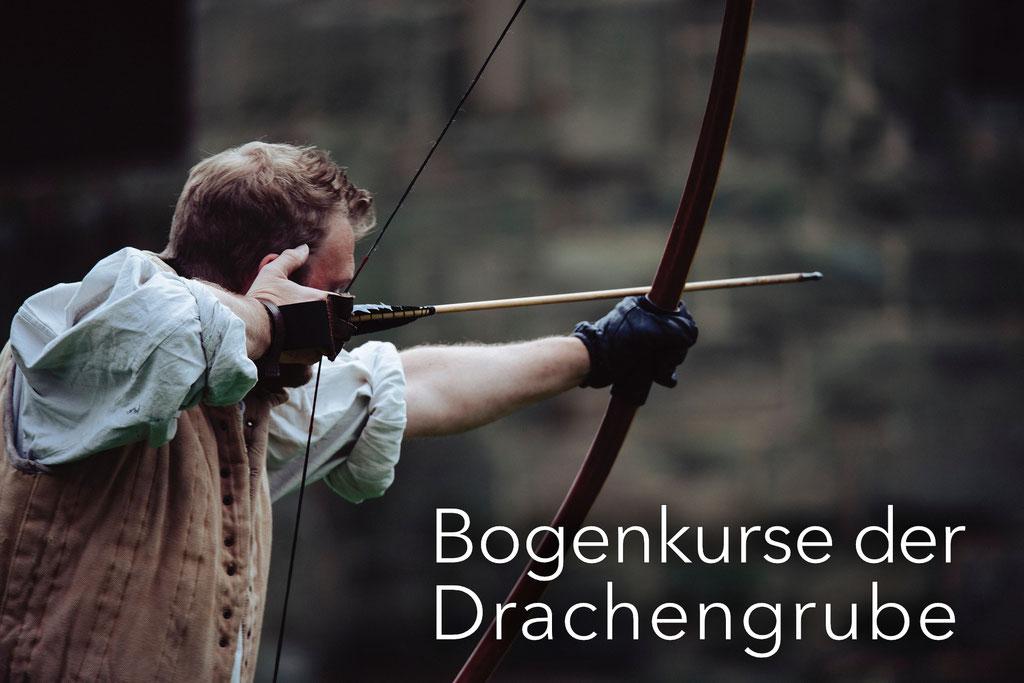 Bogenkurse mit unseren Partnern der Drachengrube Ravensburg