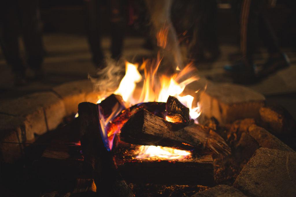 Warme Feuerstellen