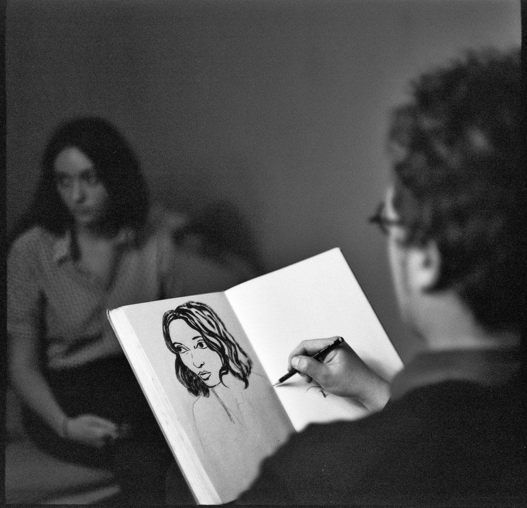 Portrait von Polina. Foto: © Casa de Chrisso