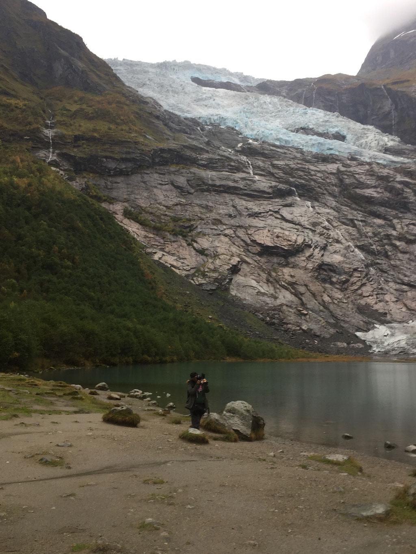 Gletscher_Fjaerland_Norwegen_Wohnmobil_Hund_Erfahrungen