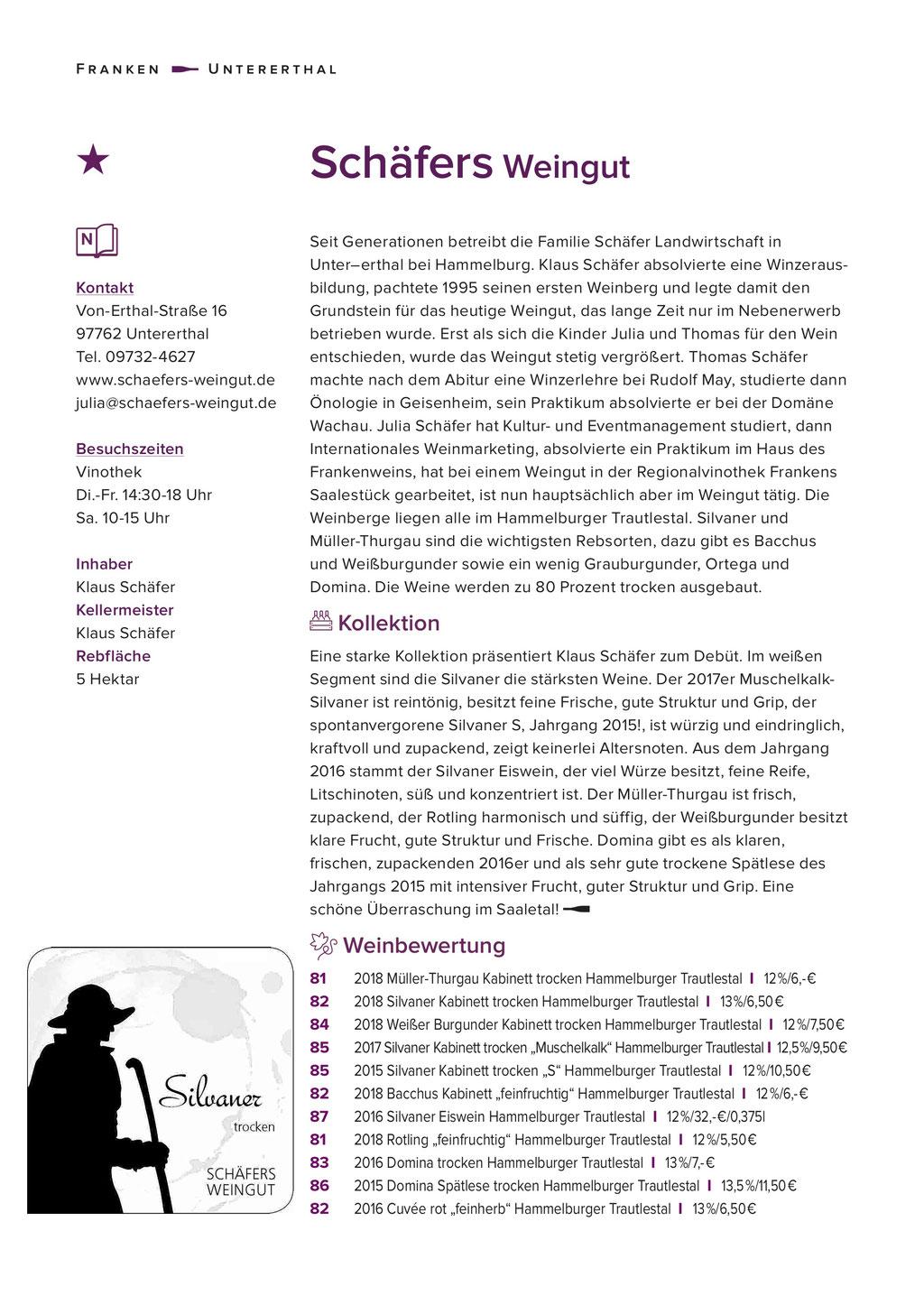 Eichelmann 2020. Schäfers Weingut. ausgezeichnet.