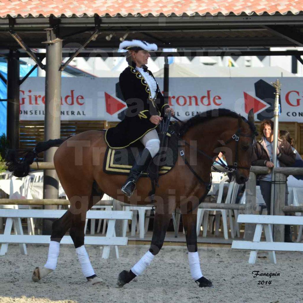 """Carrousel de cavalières Equitation de travail lors du salon """"Equitaine"""" à Bordeaux en 2014 - 24"""