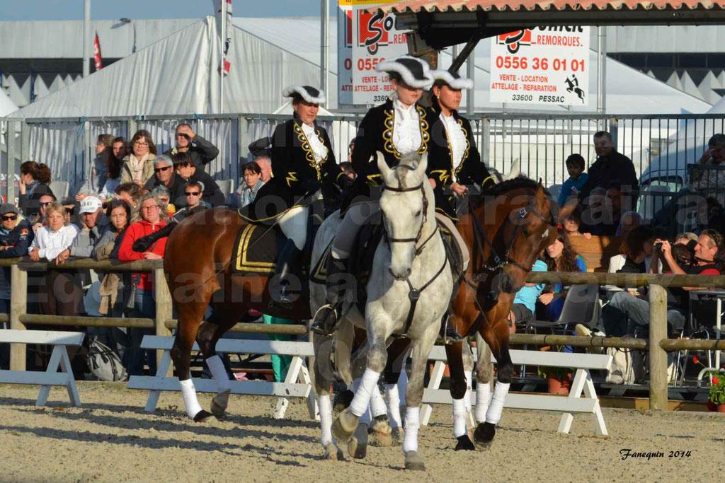 """Carrousel de cavalières Equitation de travail lors du salon """"Equitaine"""" à Bordeaux en 2014 - 19"""