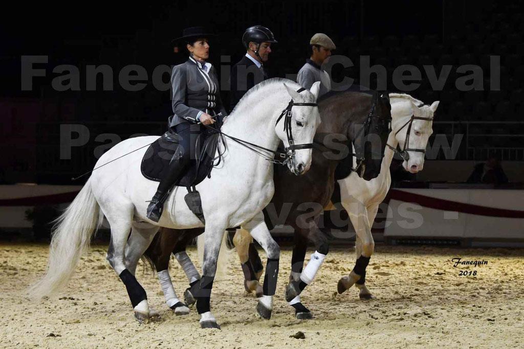 Cheval Passion 2018 - Show des élevages - Chevaux LUSITANIENS - Ecurie Max VENDRELL