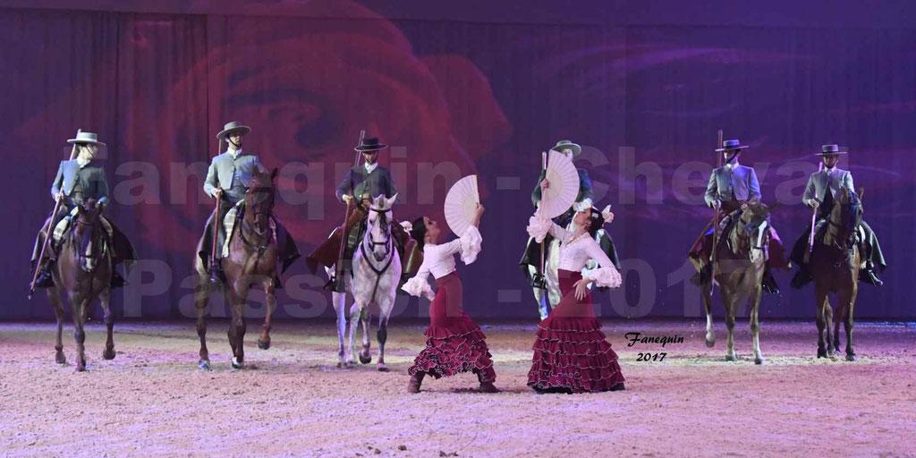 """Cheval Passion 2017 - spectacle """"générale"""" des Crinières d'OR - CORDOBA ECUESTRE - Javier GOMEZ - mercredi 18 janvier 2017"""