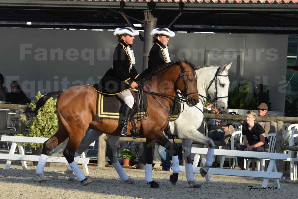 """Carrousel de cavalières Equitation de travail lors du salon """"Equitaine"""" à Bordeaux en 2014 - 46"""