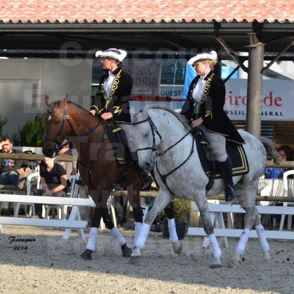 """Carrousel de cavalières Equitation de travail lors du salon """"Equitaine"""" à Bordeaux en 2014 - 31"""