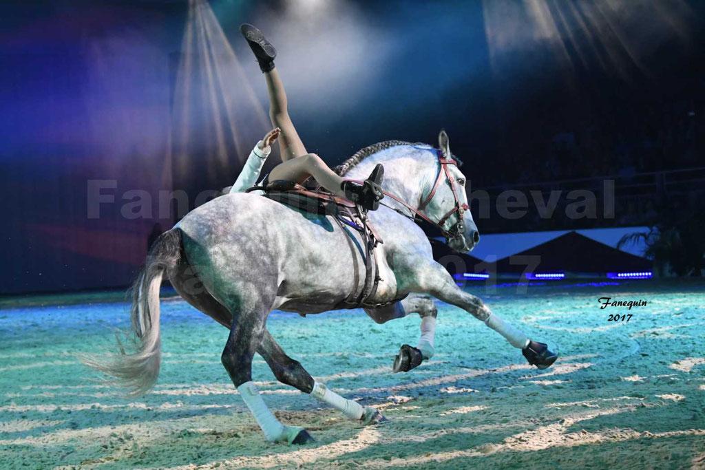 """Cheval Passion 2017 - spectacle """"générale"""" des Crinières d'OR - Ecurie du REAL'S HORSE - mercredi 18 janvier 2017"""