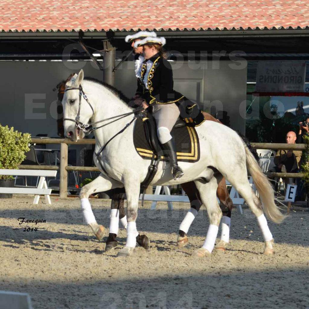 """Carrousel de cavalières Equitation de travail lors du salon """"Equitaine"""" à Bordeaux en 2014 - 42"""