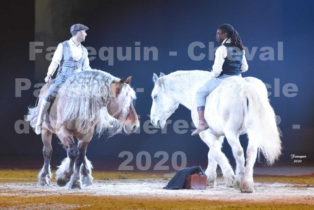 Cheval Passion 2020 - Les Crinières d'OR - Samuel HAFRAD & Jérôme SEFER