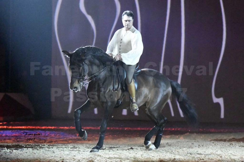 """Cheval Passion 2017 - spectacle """"générale"""" des Crinières d'OR - SILVER MASSARENTI - mercredi 18 janvier 2017"""