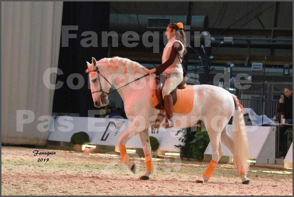 """Cheval Passion 2019 - Concours de Pas Espagnol - Étalon """"ZIDANE"""" - 12"""