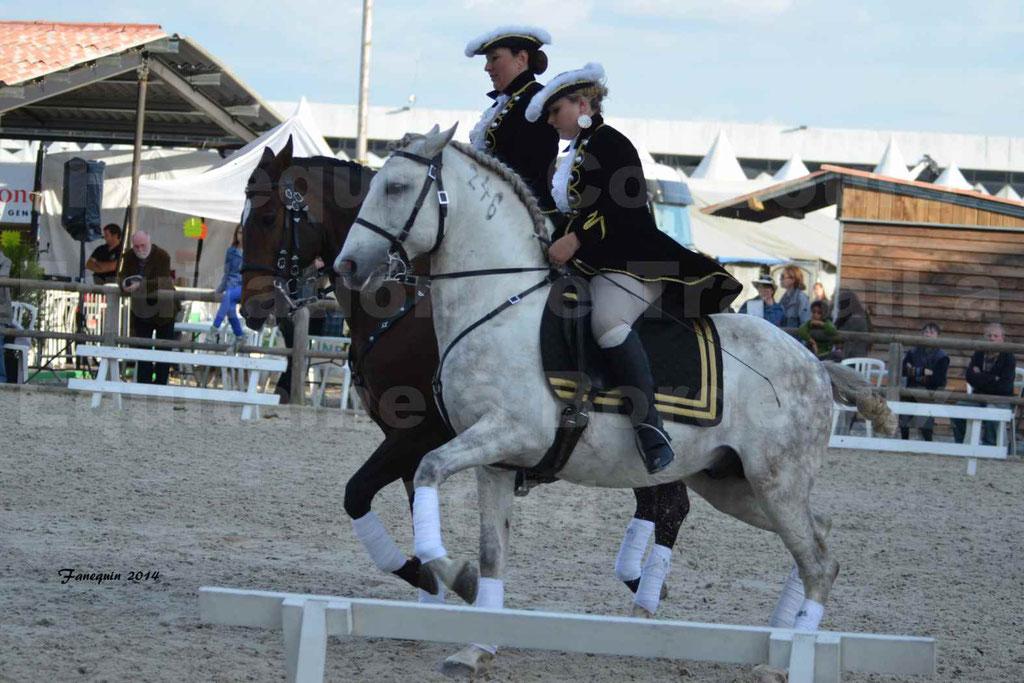 """Carrousel de cavalières Equitation de travail lors du salon """"Equitaine"""" à Bordeaux en 2014 - 39"""