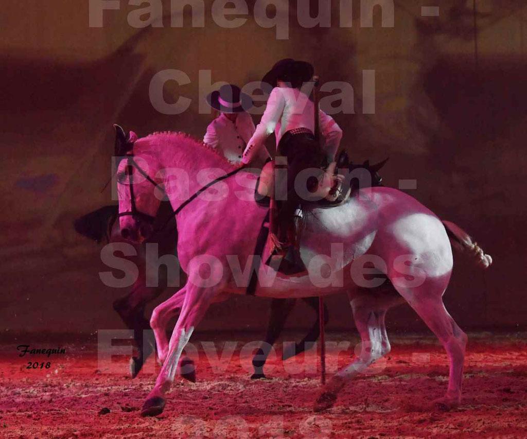 Cheval Passion 2018 - Spectacle Les Crinières d'OR 2018 - Alma Vaquera - les soeurs MARQUES - ISAORA & JEZABEL