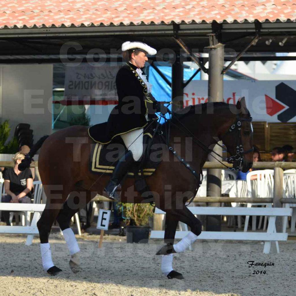 """Carrousel de cavalières Equitation de travail lors du salon """"Equitaine"""" à Bordeaux en 2014 - 26"""