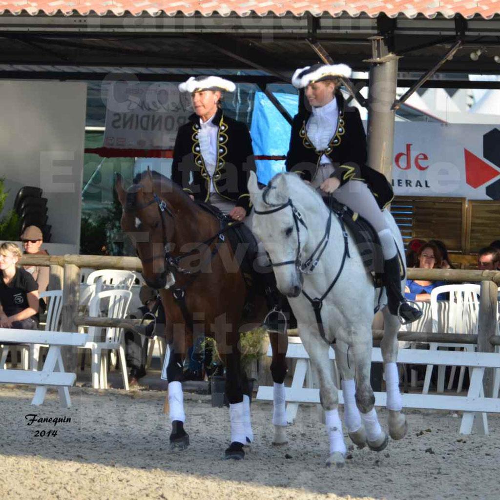 """Carrousel de cavalières Equitation de travail lors du salon """"Equitaine"""" à Bordeaux en 2014 - 41"""