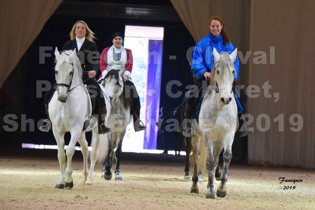 Cheval Passion 2019 - Show des Races - Chevaux BARBES