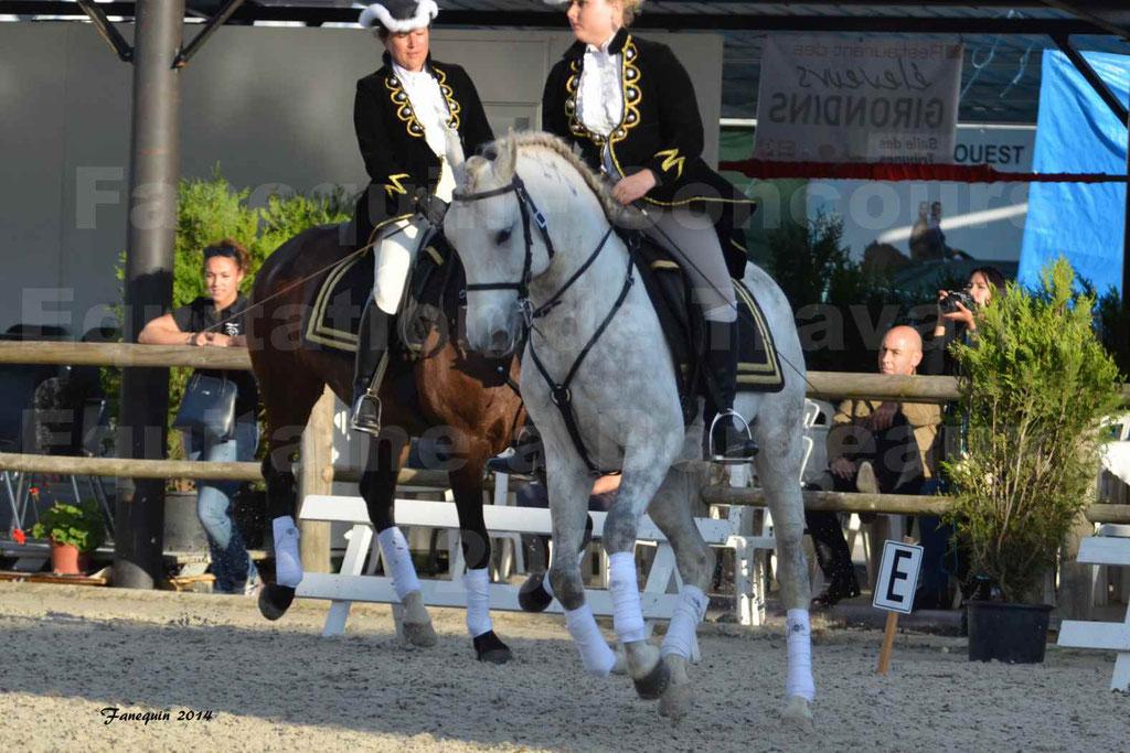 """Carrousel de cavalières Equitation de travail lors du salon """"Equitaine"""" à Bordeaux en 2014 - 49"""