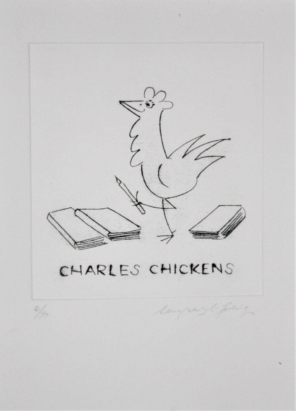 Charles Chickens, 35€