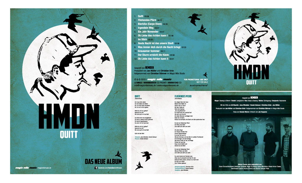 "CD-Artwork u. Plakat | ""Hemden"" 
