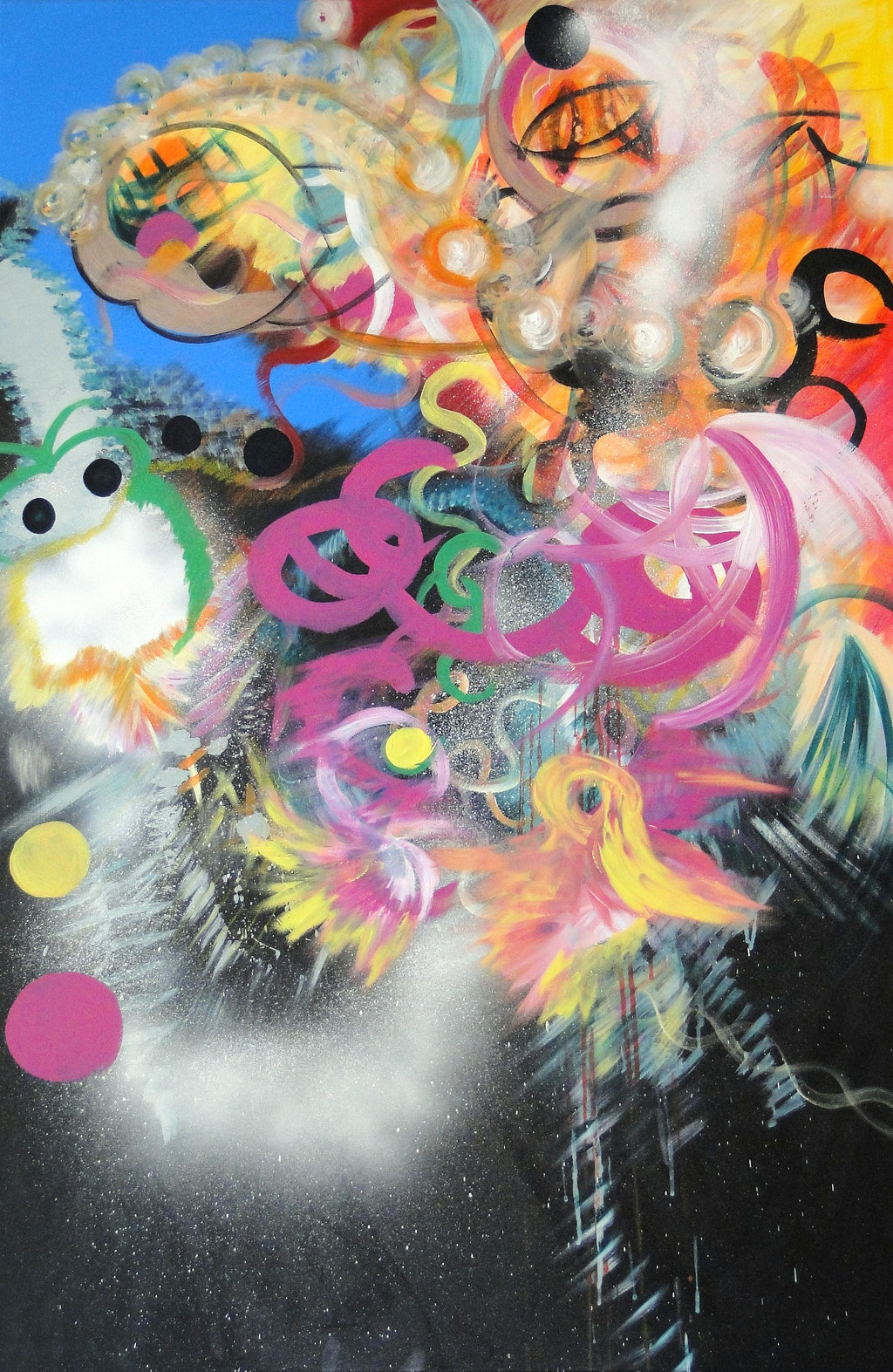 magic dreams    120 cm x 80 cm