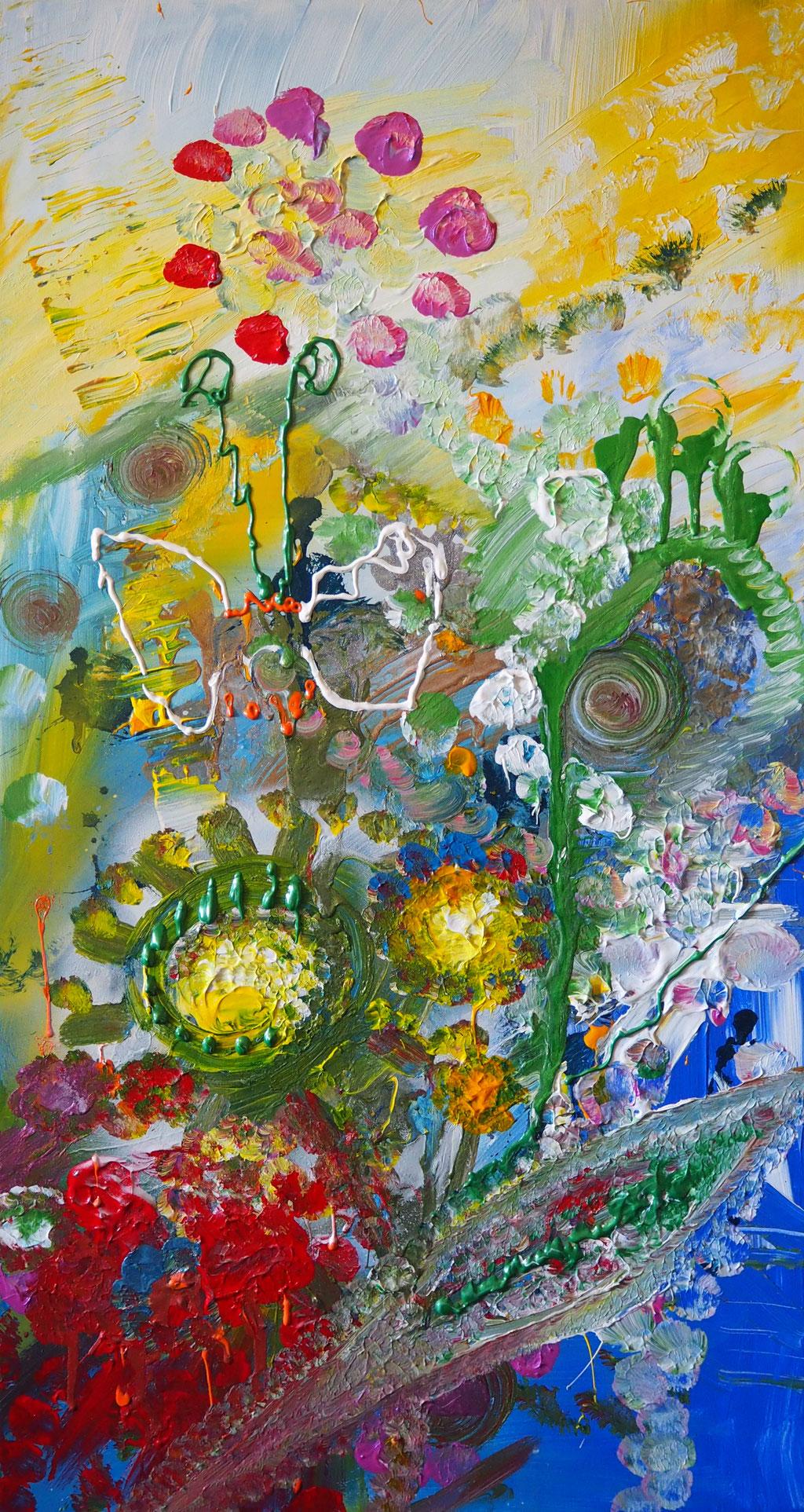 Blütenzauber 80x40cm