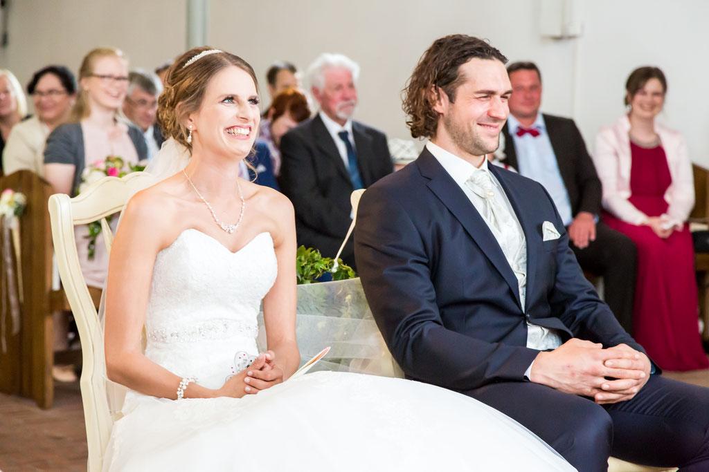 Hochzeitsfotos aus der Kirche Hamburg und Lübeck.