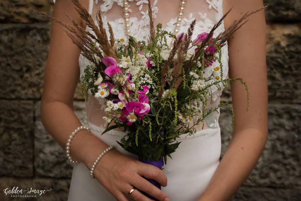 Brautstrauß, Boho Brautstrauß