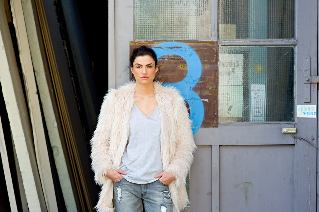 Nicole Harrison, Model