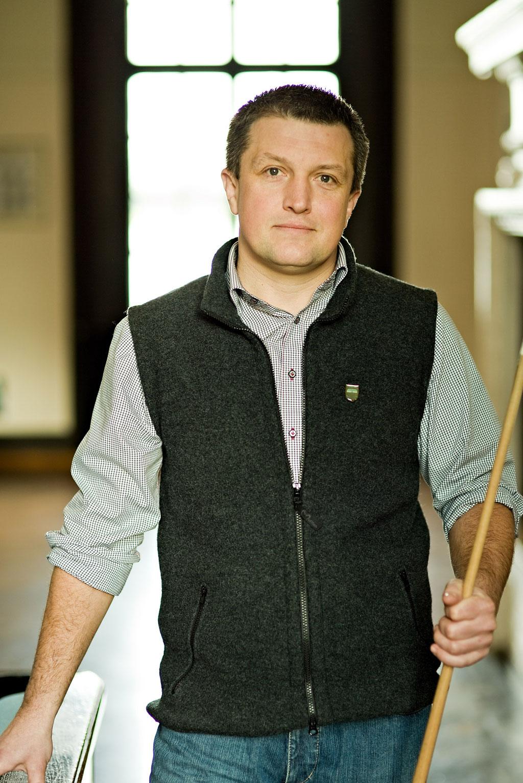 Frank Hoier, pädagogische Leitung Internat Schloss Rohlstorf