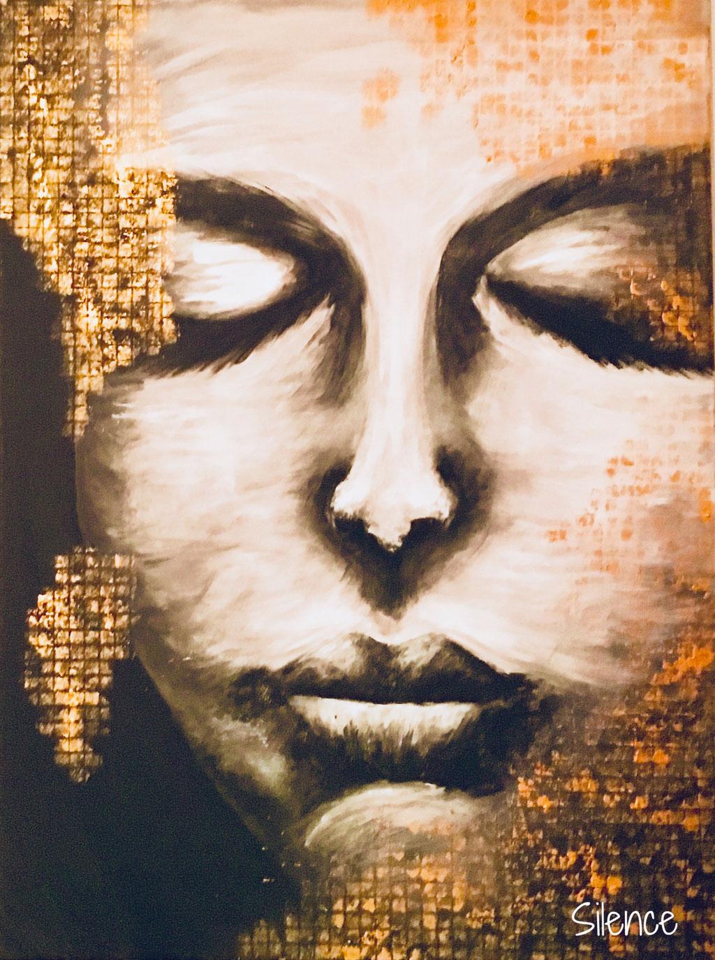 Silence / 60x80 / Acryl