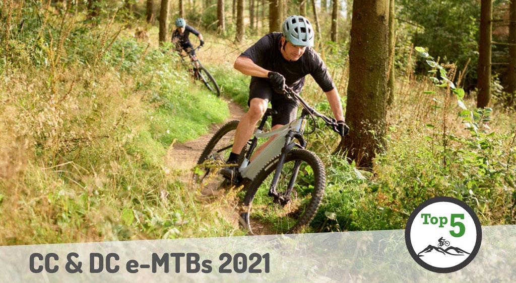 Die besten CC und DC e-Mountainbikes 2021
