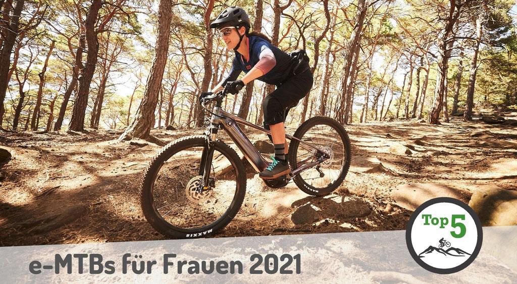 Die besten Frauen e-Mountainbikes 2021