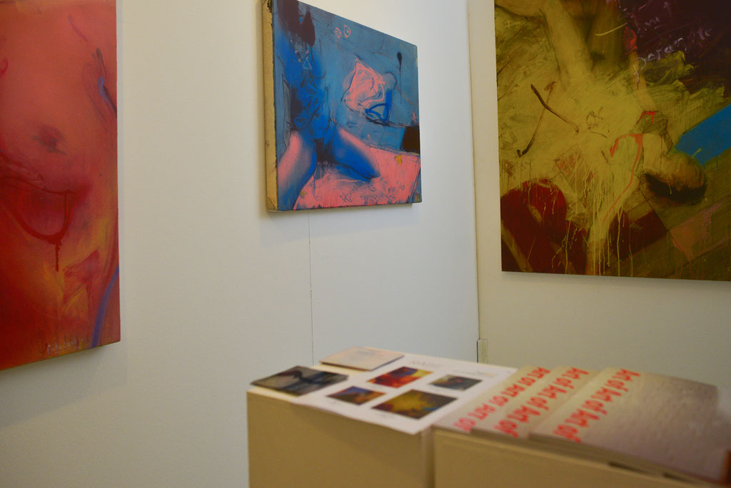 Im Zentrum: blue room '16