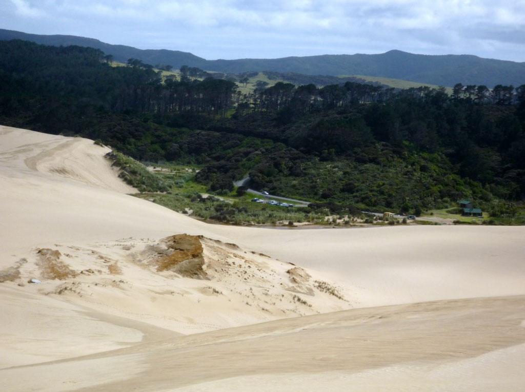 Vistas desde las dunas