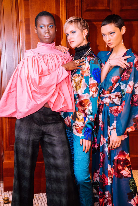 Natalja-Neumeister-Priska-Klatt-Aminata-Sanogo-FashionWeekBerlin-AnjaGockel-PaulMitchell