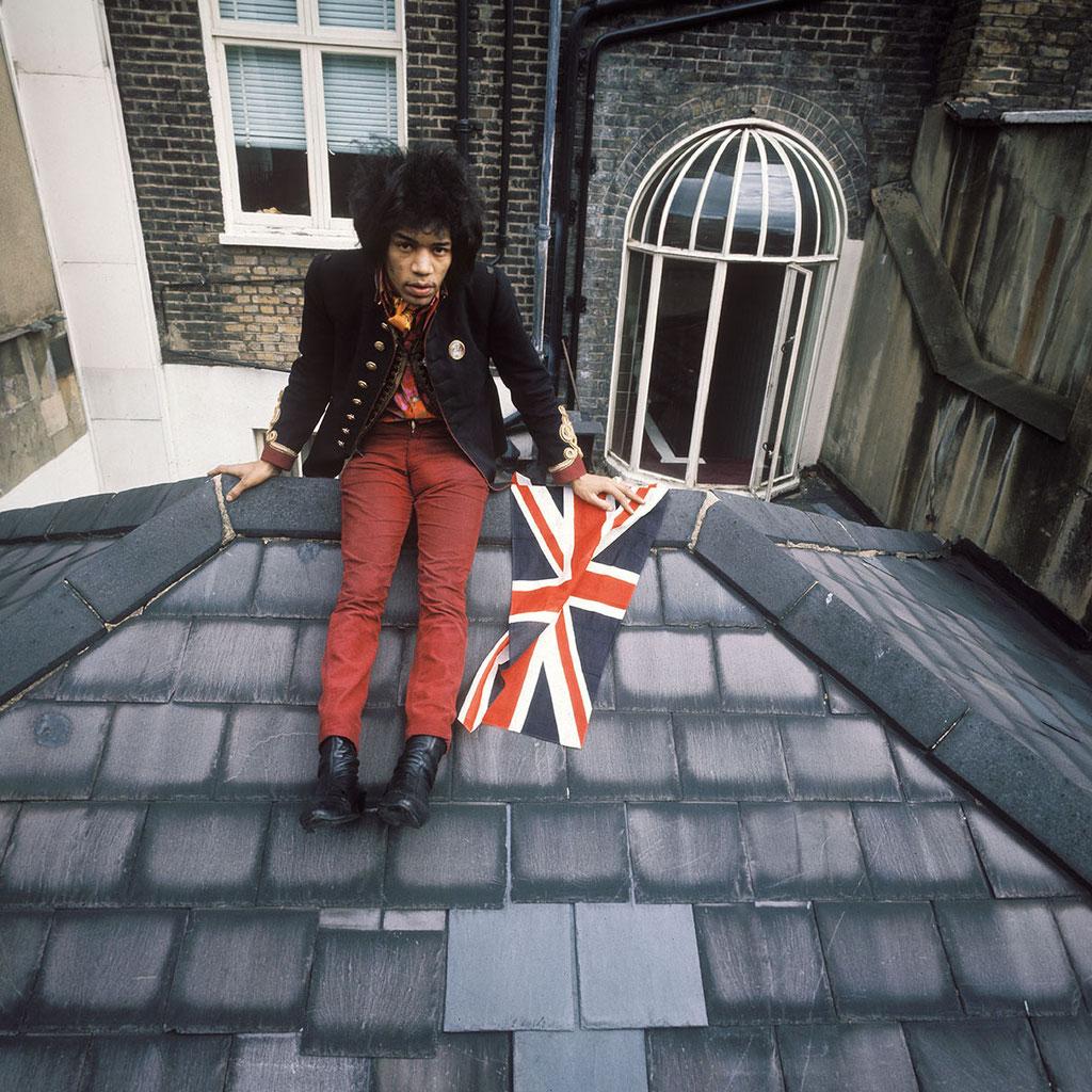 Jimi Hendrix. London, 1968