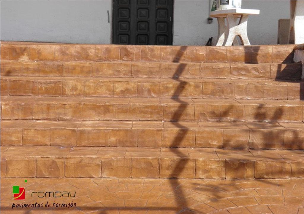 fotos escaleras hormigon impreso alcala de henares