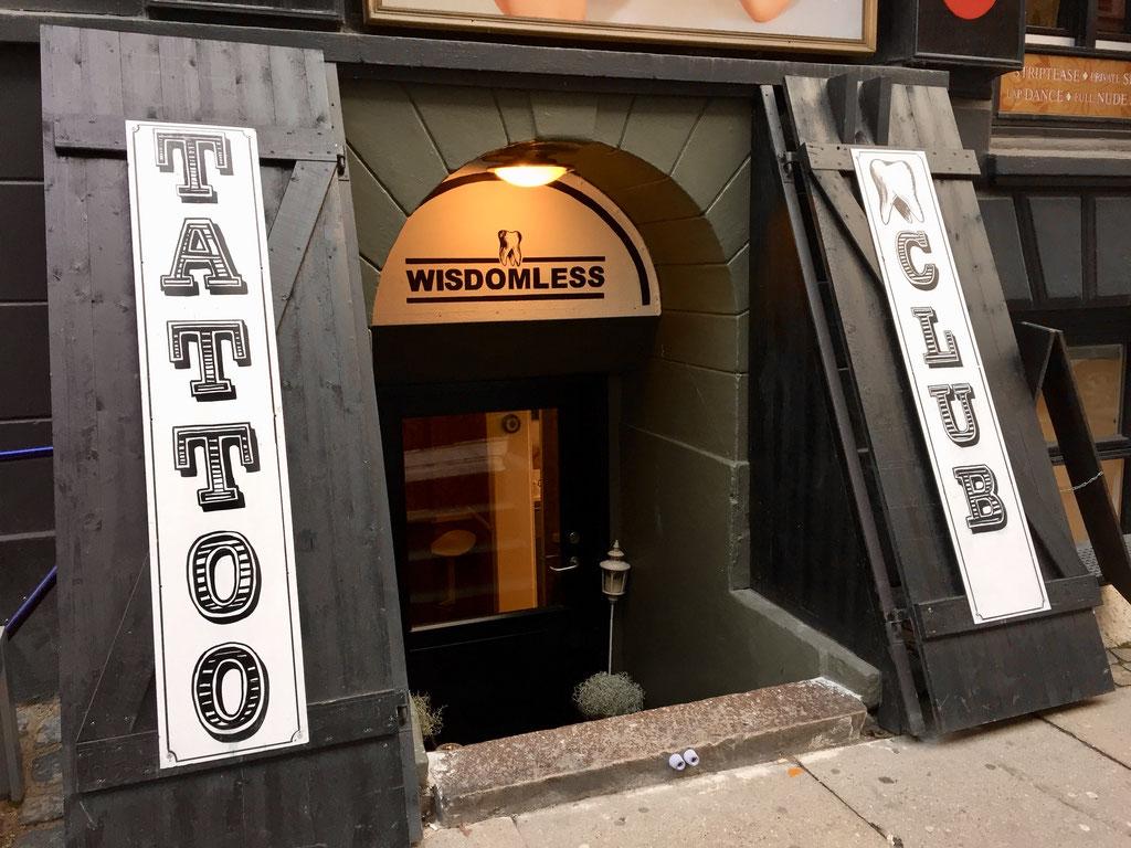 wisdomless tattoo club