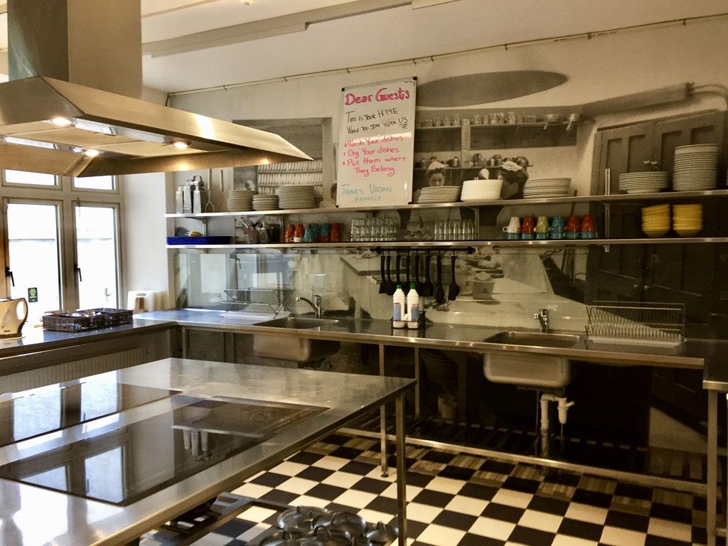urban house self serve kitchen