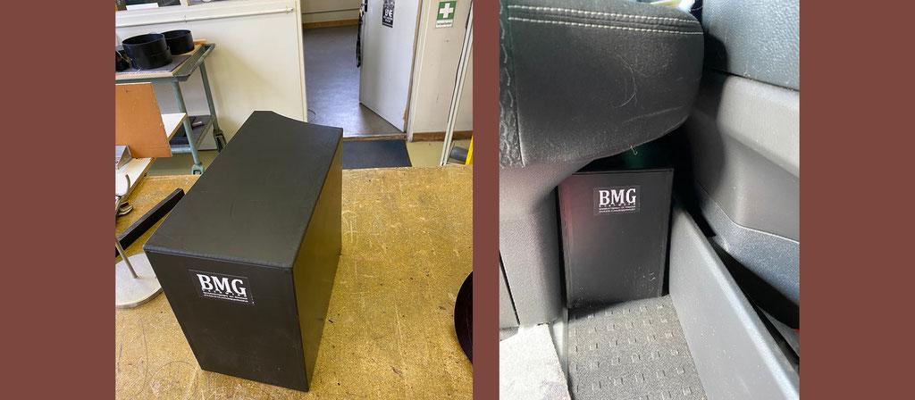 Box mit Deckel aus PE VW T6