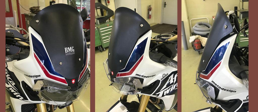 Windabweiser aus PE für Honda