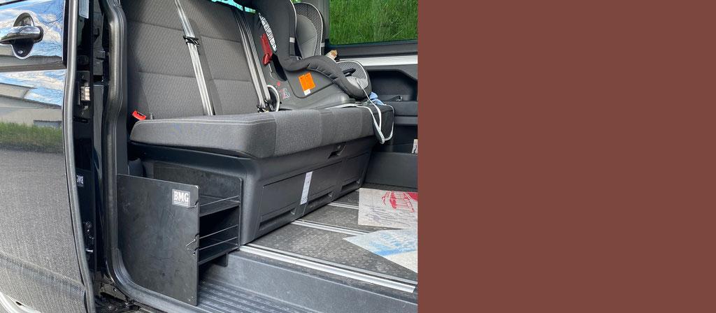 Staufach aus PE demontierbar VW T6