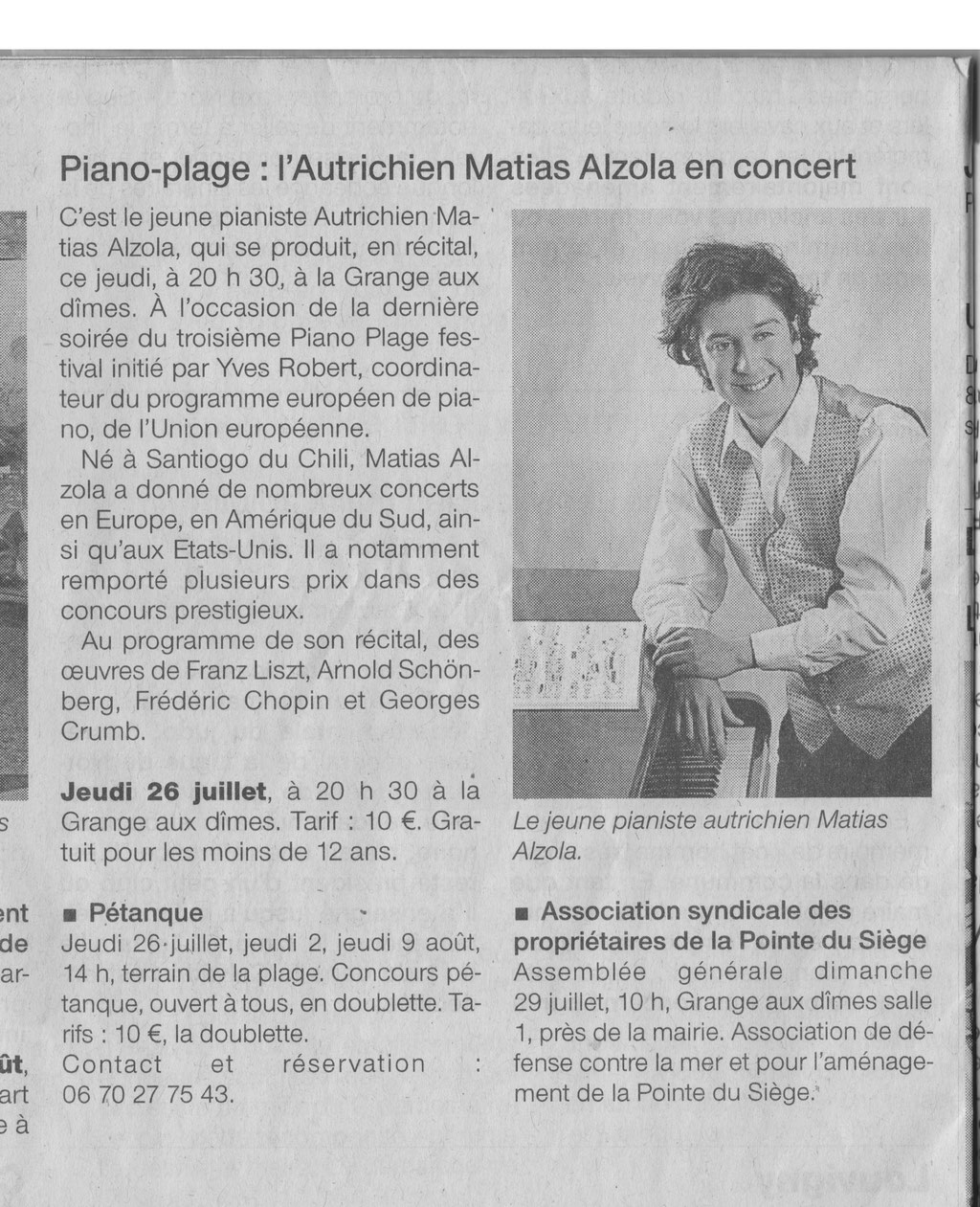 Ouest-France 26/07/2012