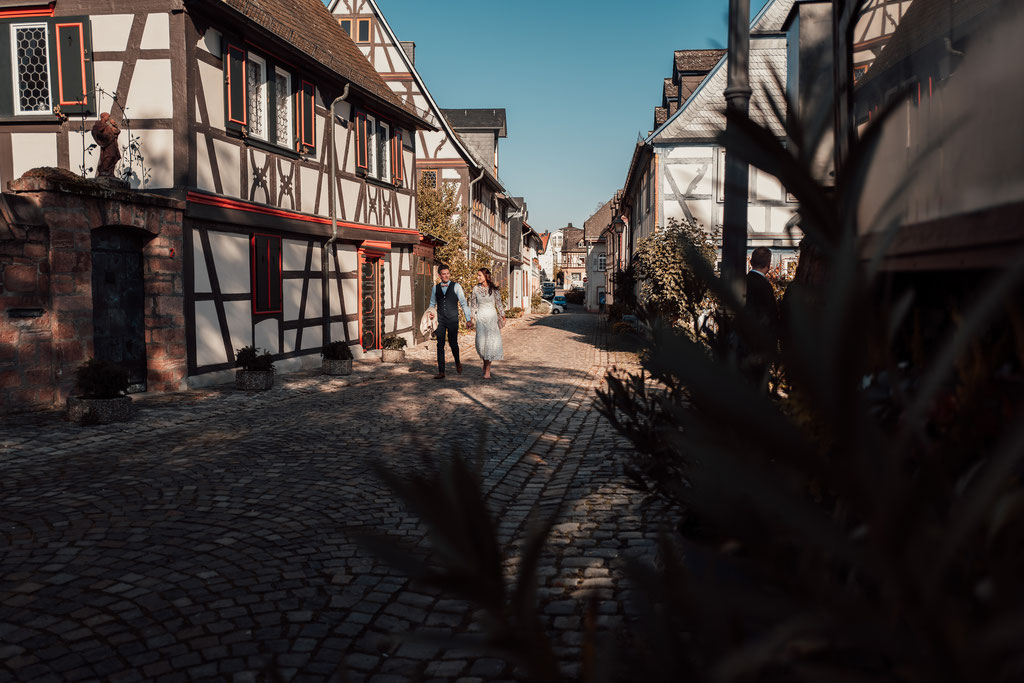 Hochzeitsfotografin Eltville, Altstadt Eltville
