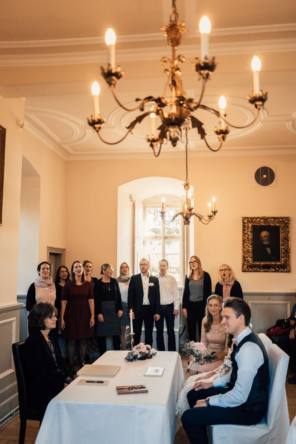 Hochzeitsfotografin Idstein, Chor, Gesang, Sänger, Gruppe