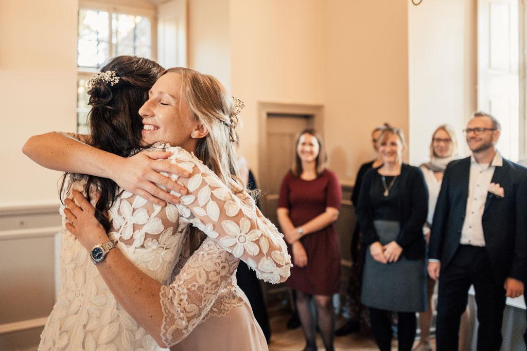 Hochzeitsfotografin Eltville, Trauzeugin