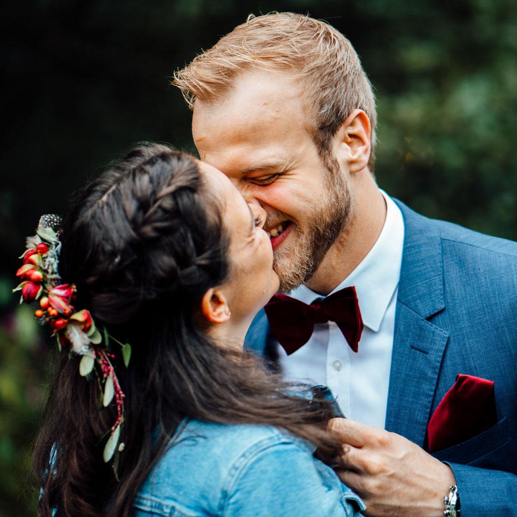 Brautpaarshooting, Hochzeit, Freie Trauung, Wiesbaden, Rheingau, Hubertushütte, Lentschik, Fotografin