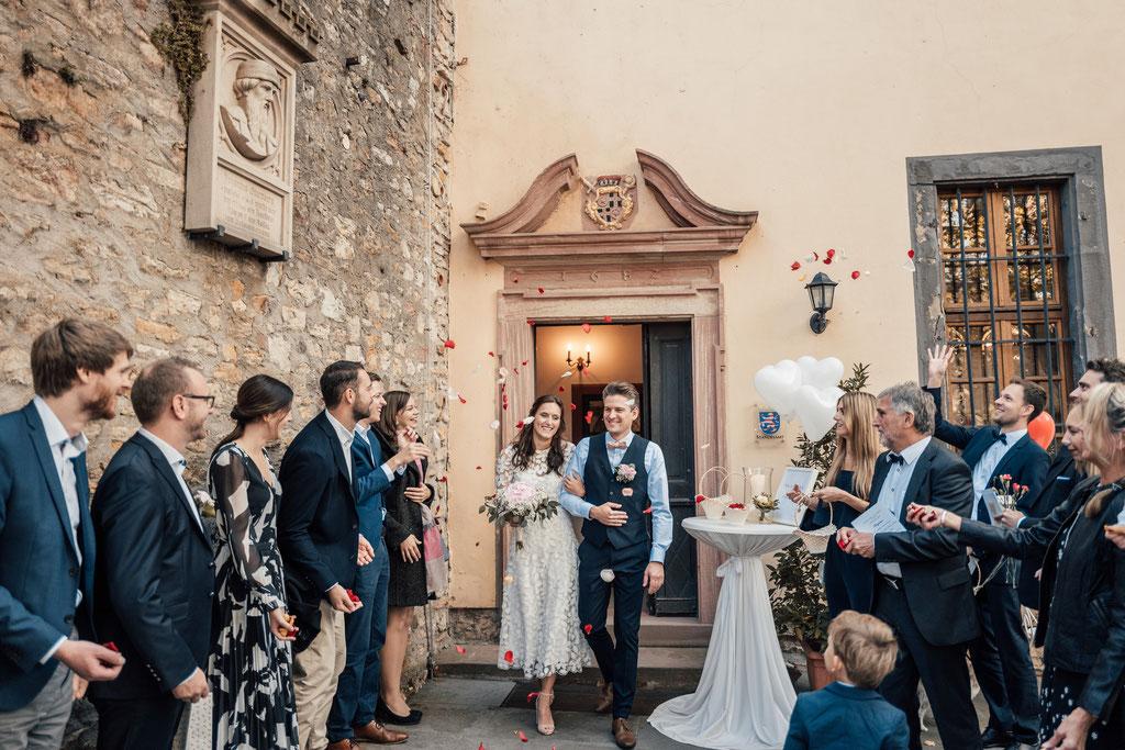 Hochzeitsfotografin Idstein, Burg Eltville